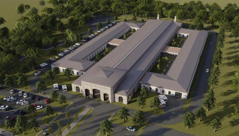 Началось строительство пандемической больницы в ТРСК