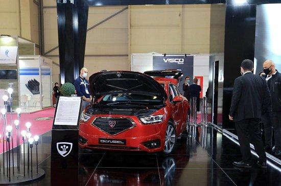 Электромобиль, произведенный в ТРСК, был выставлен в Стамбуле