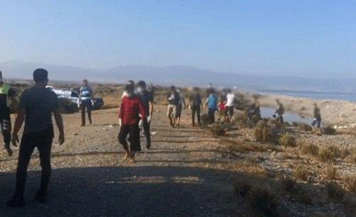Беженцы были найдены к западу от Кирении